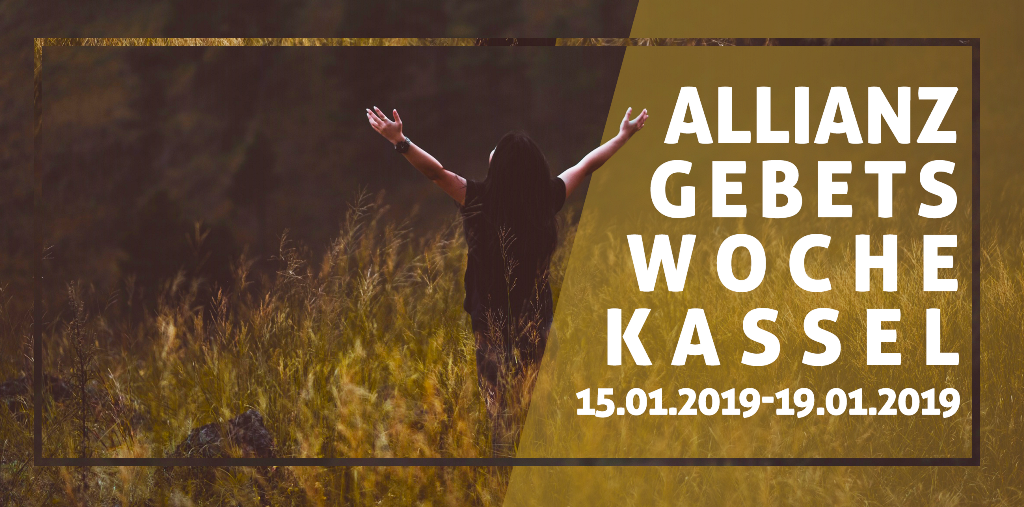 Allianz-Gebetswoche 2019 (15.01.-19.01.2019)